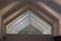 Glasabtrennung Dachgiebel